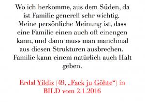 Zitat Erdal Familie