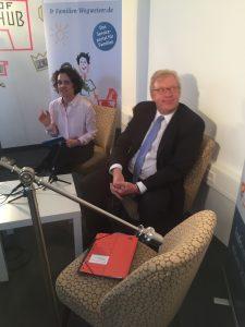 MAMA BERLIN Staatssekretär Kleindiek Unterhaltsvorschuss FamBloggerCafe