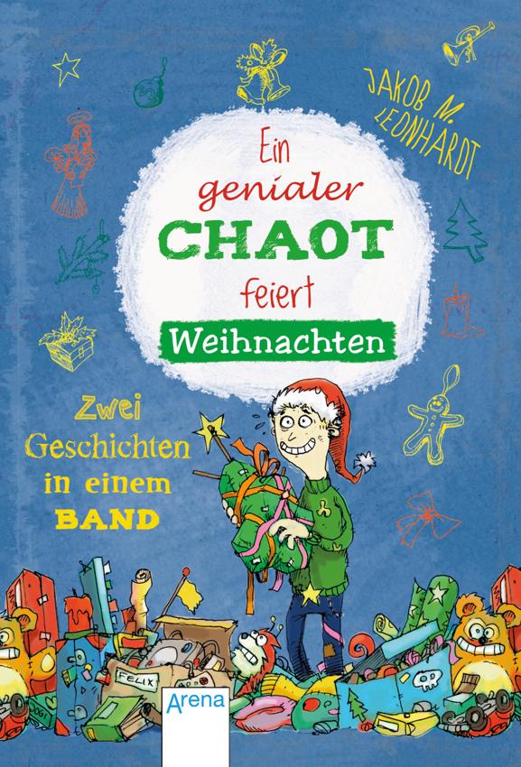 Ein genialer Chaot feiert Weihnachten Arena Cover