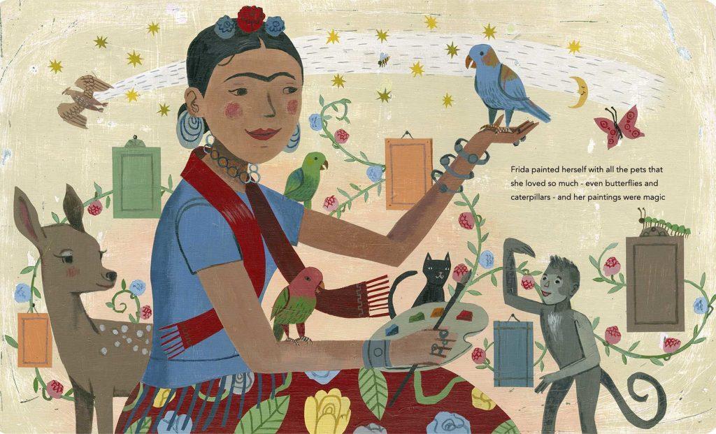 Adventskalender Frida Kahlo