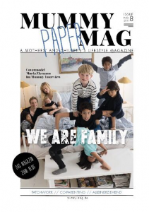 Mummy Mag Cover We Are Family