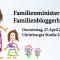 Das #Familienministerium lud zum #FamBloggerCafe in Berlin und stellte sich unseren kritischen Fragen! Hier die Antworten …